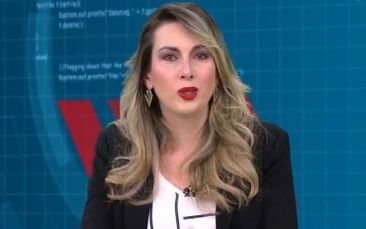 Giro Marília -Apresentadora chora ao vivo após programa ser cancelado na Gazeta