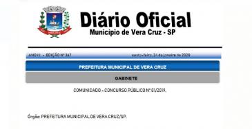 Giro Marília -  Após lambança em divulgação, Vera Cruz reabre recursos contra concurso