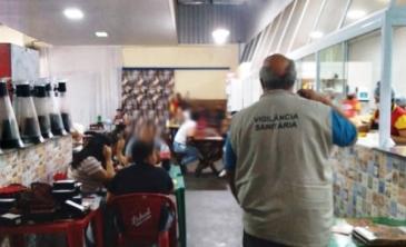 Giro Marília -Vigilância Sanitária esvazia e fecha quatro estabelecimentos em Marília