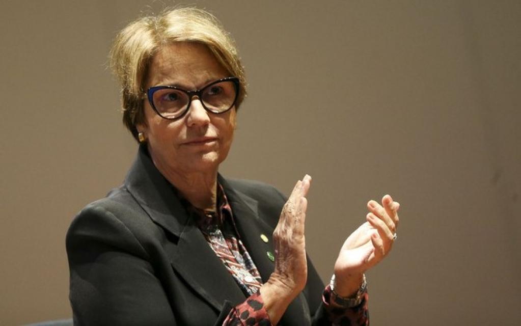 Giro Marília -Tereza Cristina otimista com comércio entre Brasil e países árabes