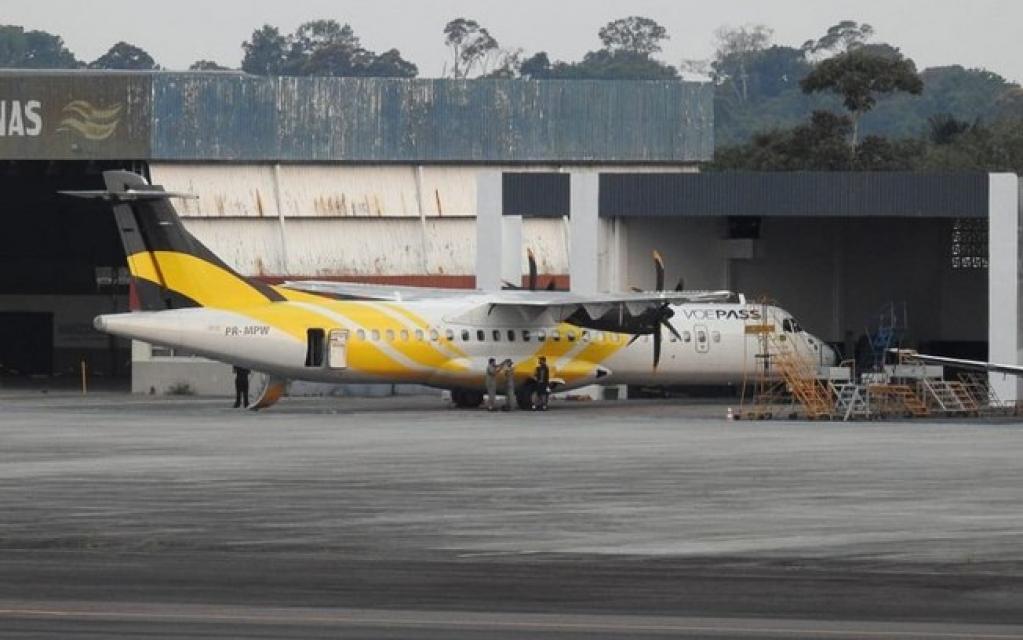Giro Marília -VOEPASS estreia seu hangar em Manaus