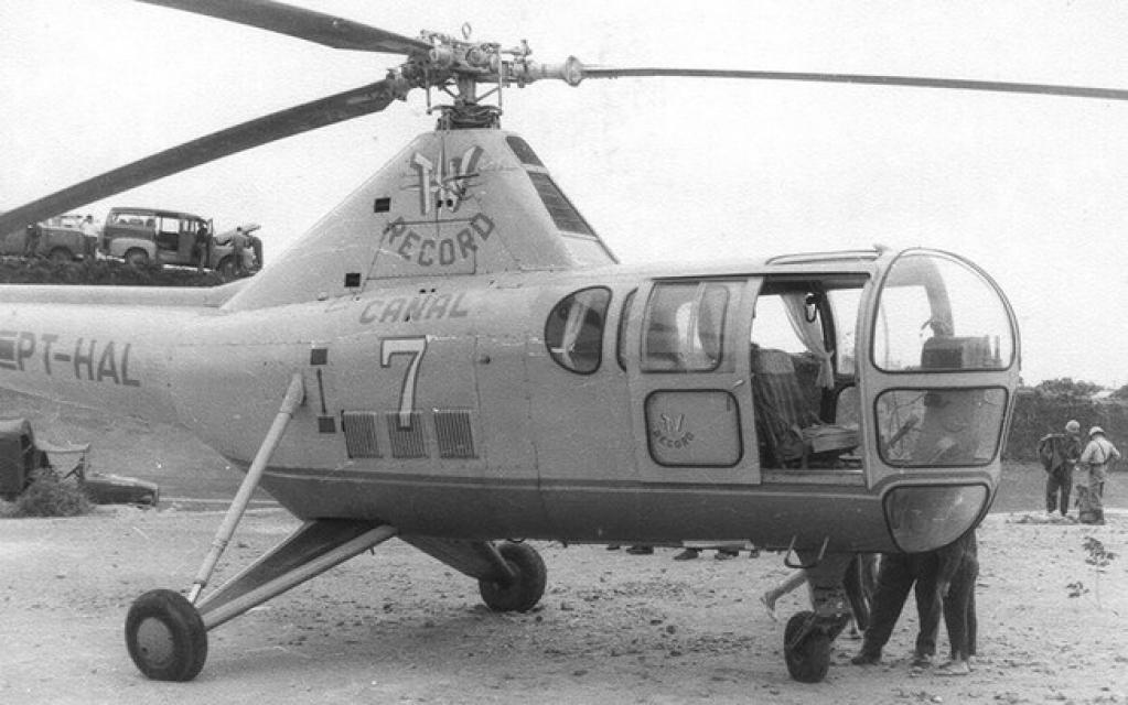 Giro Marília -Conheça, qual foi o primeiro helicóptero utilizado para reportagens no Brasil
