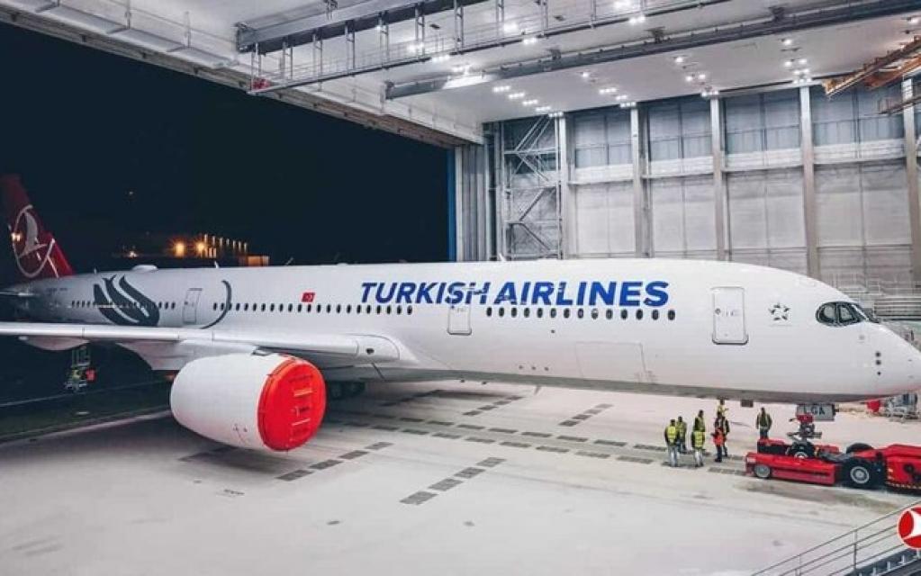 Giro Marília -Turkish vai operar voos domésticos com o Airbus A350