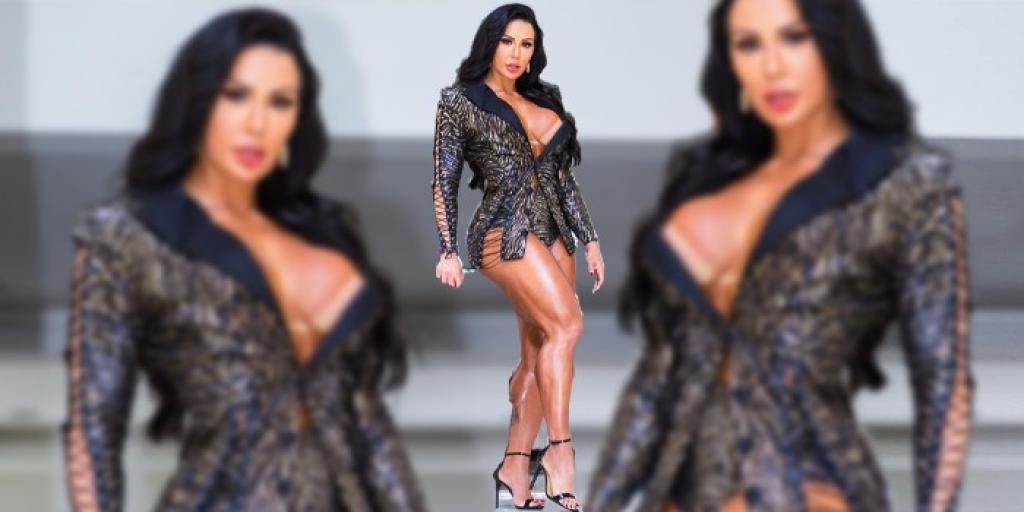 """Giro Marília -Gracyanne Barbosa exibe """"shape saradíssimo"""" usando look de tirar o fôlego"""