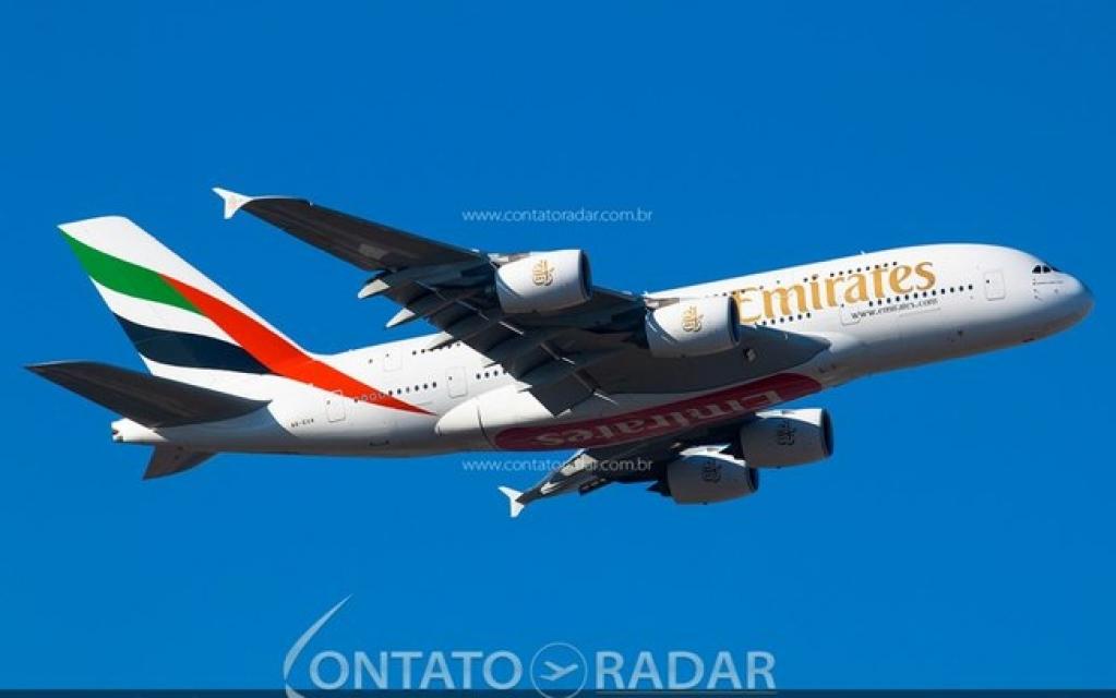 Giro Marília -Emirates receber seus ltimos Airbus A380 apenas em 2022