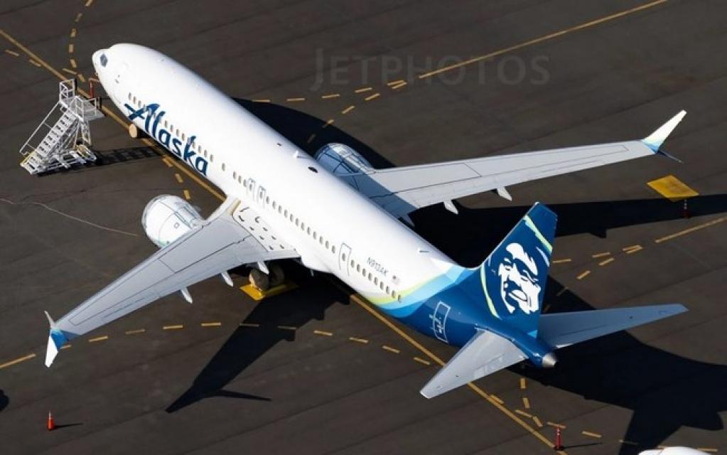 Giro Marília -Alaska Airlines recebe seu primeiro Boeing 737 MAX