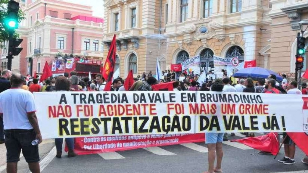 Giro Marília -Dois anos após tragédia de Brumadinho, manifestantes exigem reparação