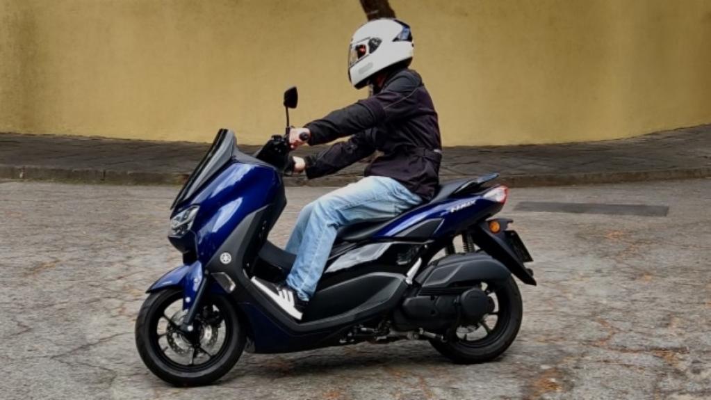 Giro Marília -Andamos uma semana com o scooter Yamaha NMax 2021