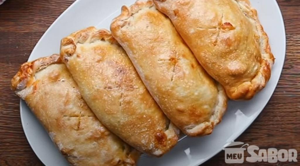 Giro Marília -Aprenda a fazer um prato espetacular! Calzone de carne e arrase na cozinha!