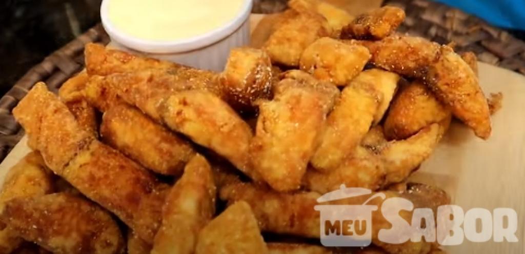 Giro Marília -Petiscos de peixe frito para servir na roda de amigos e curtir aquele happy hour maravilhoso!