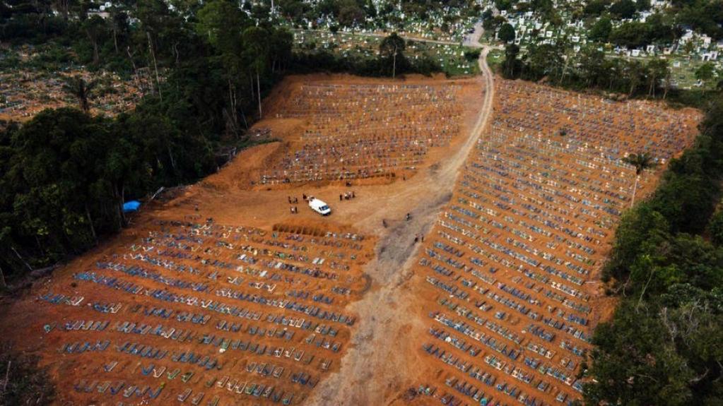 Giro Marília -Brasil tem 30 mil casos de Covid em 24h e se aproxima de 14 milhões de infecções
