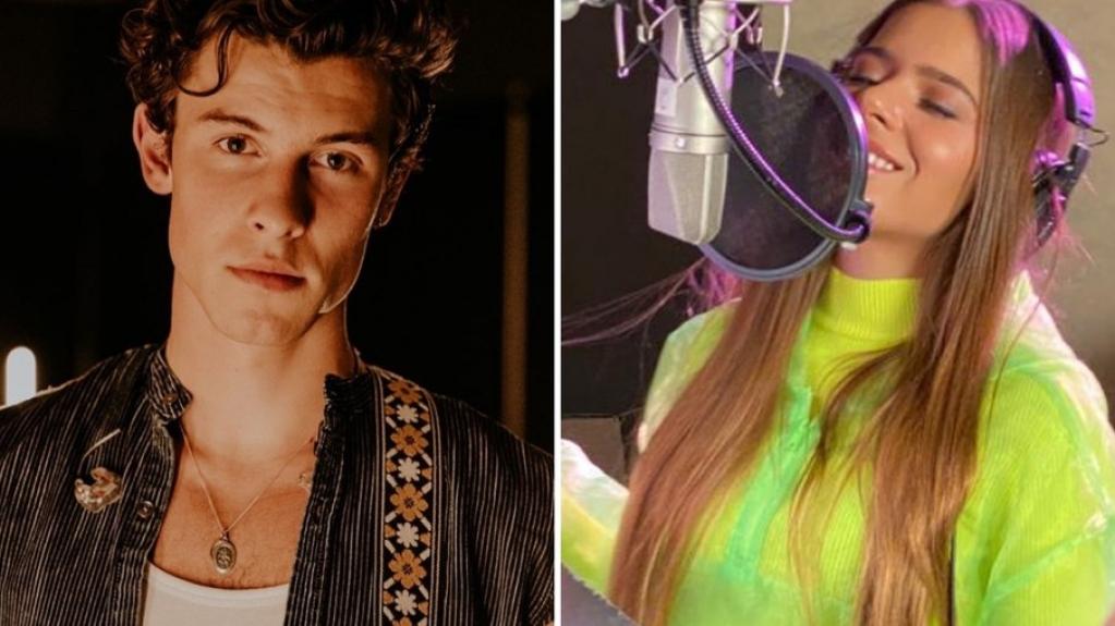 """Giro Marília -""""Ainda não o vi"""", dizEmilia Pedersen sobre ir ao mesmo estúdio que Shawn Mendes"""