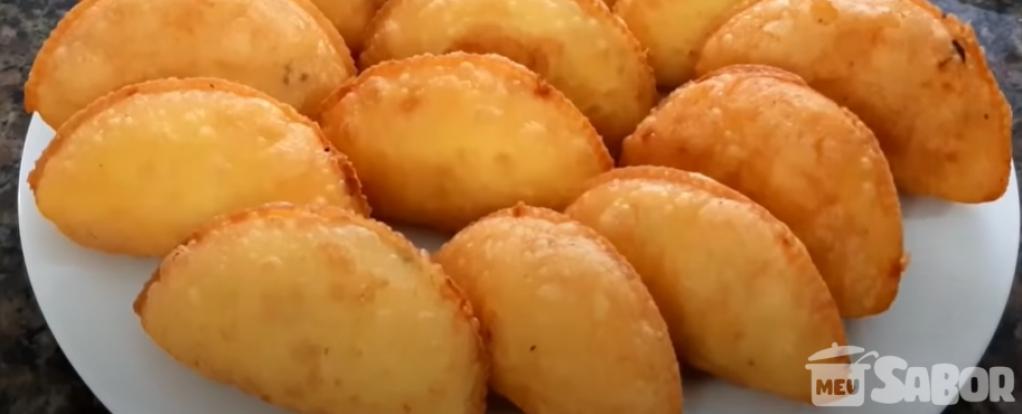 Giro Marília -Receitas de deliciosos pastelzinho de Fubá fritos super crocantes e saborosos!