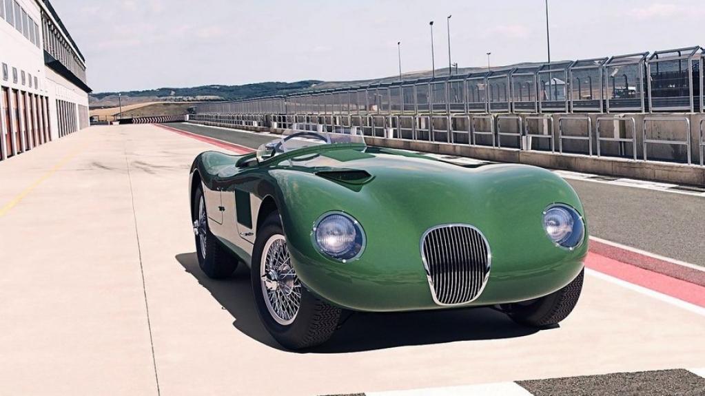 Giro Marília -Jaguar volta a produzir o clássico C-Type