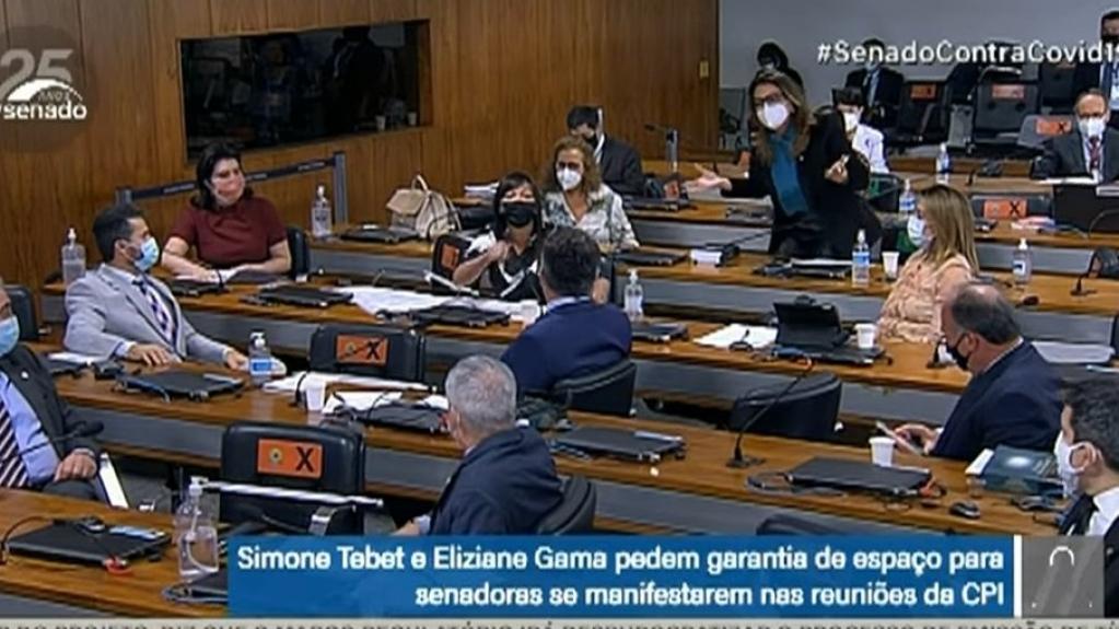 Giro Marília -Governistas questionam prioridade da bancada feminina e geram bate-boca na CPI
