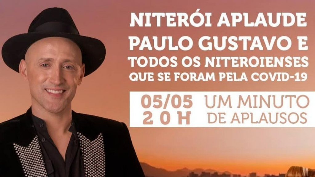 Giro Marília -Paulo Gustavo ganha homenagem em Niterói e pode virar nome de rua