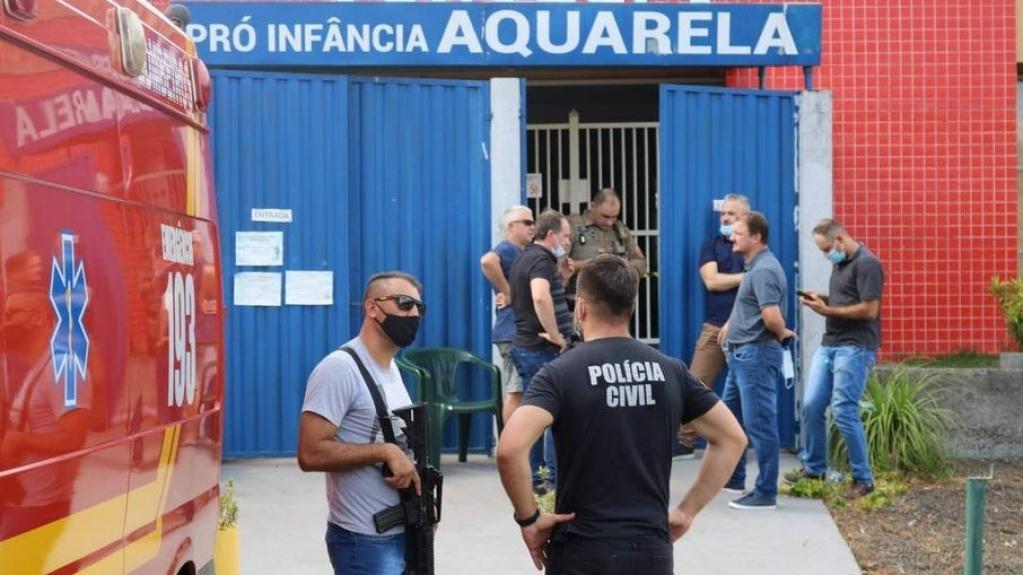Giro Marília -SC: MP pede prisão preventiva de autor de ataque em creche