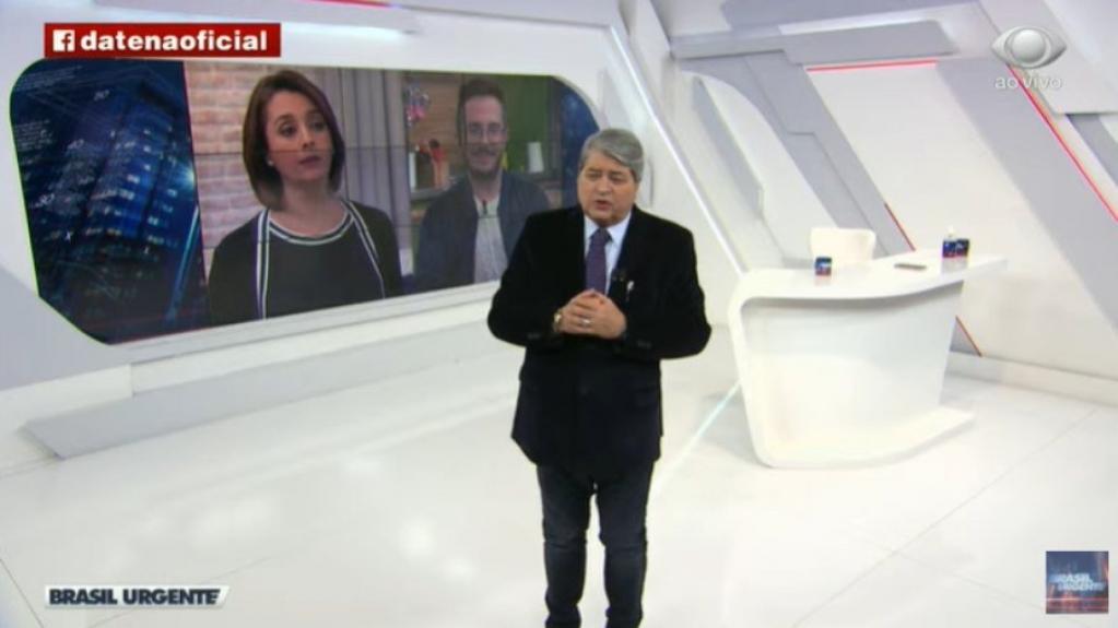 Giro Marília -Datena se emociona no Brasil Urgente ao contar que filho teve alta após Covid-19