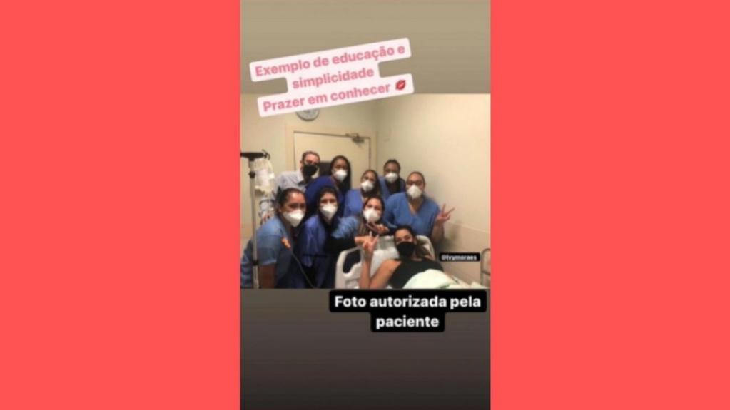 Giro Marília -Ex-BBB Ivy Moraes passa por cirurgia em hospital de Belo Horizonte