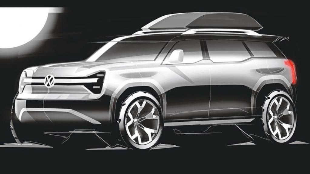 Giro Marília -VW planeja ressuscitar off-road International Scout, rival do Ford Bronco