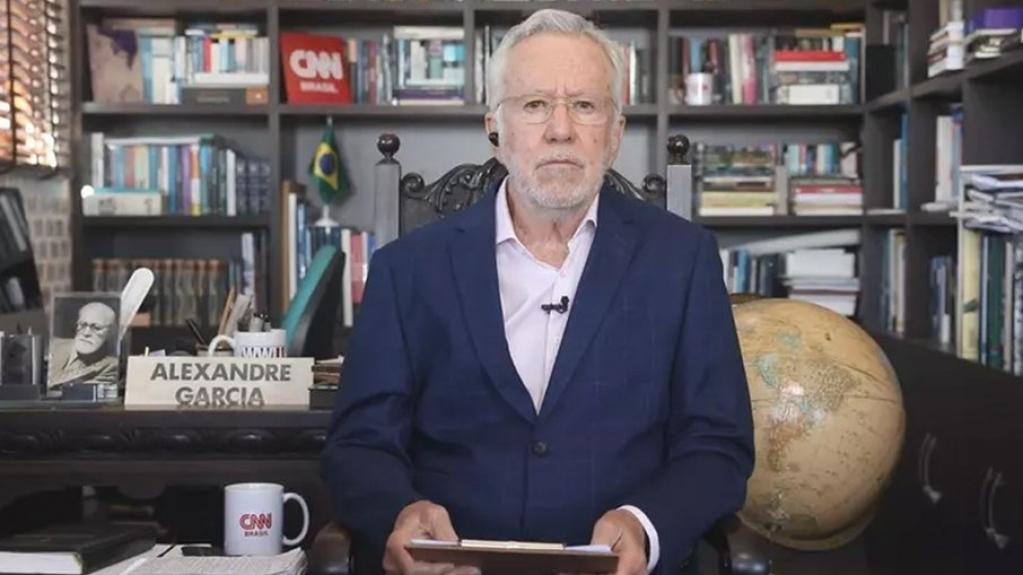 Giro Marília -Alexandre Garcia é demitido da CNN Brasil
