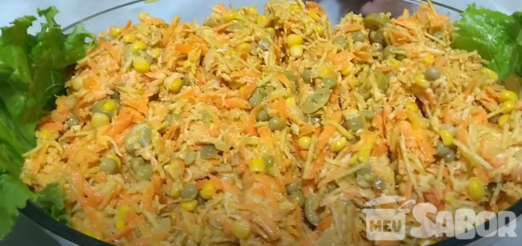 Giro Marília -Aprenda a fazer um delicioso salpicão de frango bem recheado!