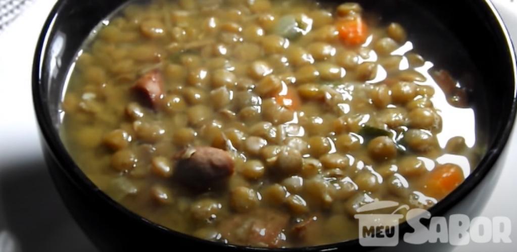 Giro Marília -Aprenda a fazer uma deliciosa sopa de lentilha!