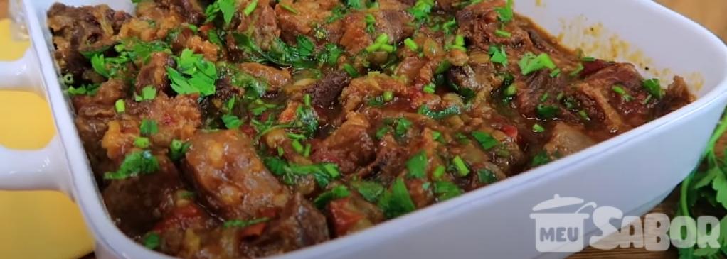 Giro Marília -Receitinha de uma suculenta carne de panela que desfia! Peita!
