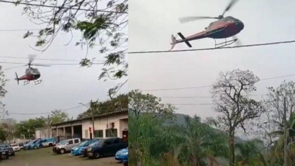 Giro Marília -Piloto de helicóptero sequestrado critica órgãos de controle aéreo