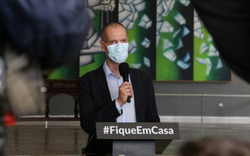 Giro Marília -Covas: São Paulo plantará uma árvore para cada vítima de Covid-19
