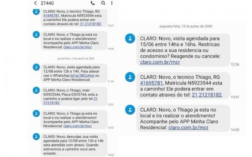 Giro Marília -Golpe da Claro-Net: criminosos fingem ser prestadores de serviço