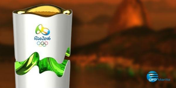 Cidades na Paraíba receberão a tocha olímpica