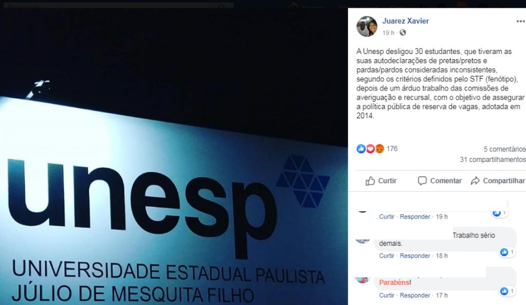 Giro Marília -Unesp desliga 30 aprovados em vestibular por fraude em autodeclaração de cotas