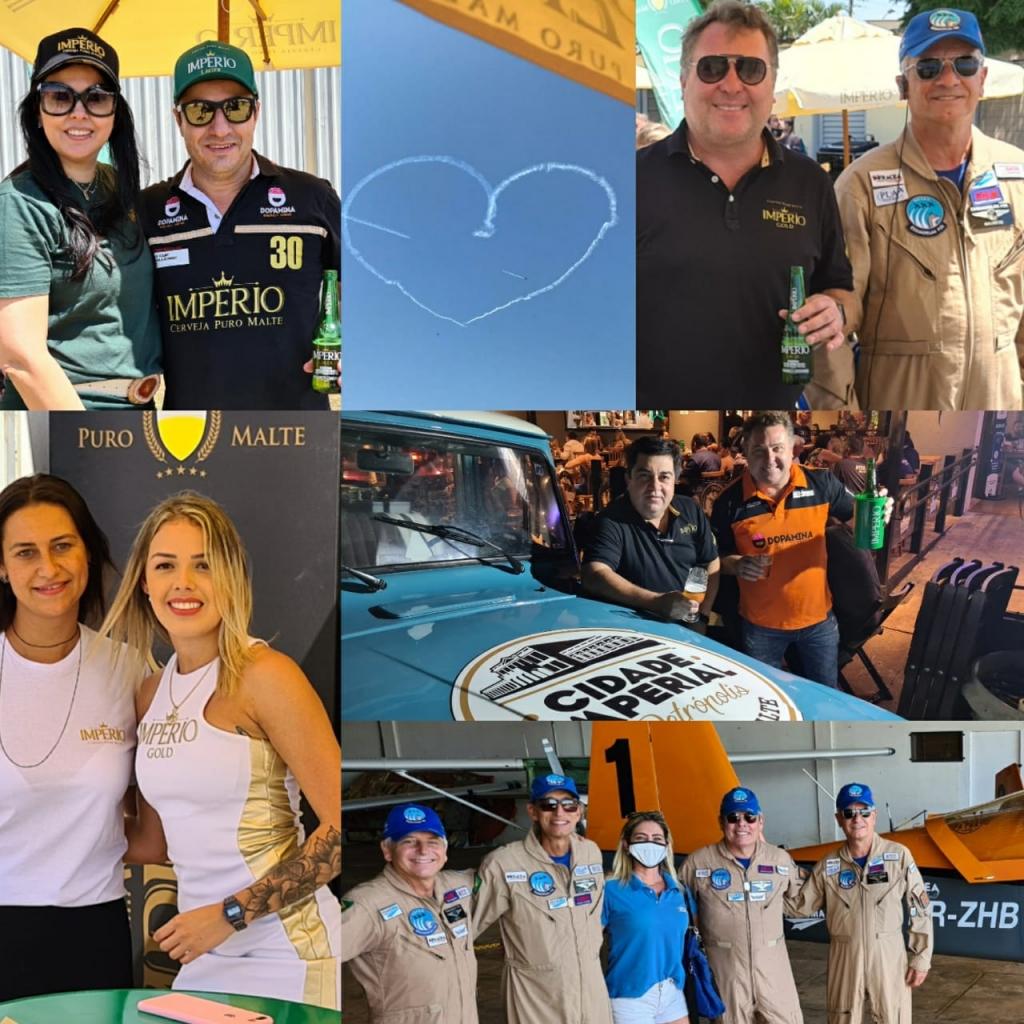 Giro Marília -Distribuidora de bebidas traz show aéreo e apresenta linhas puro malte em Marília