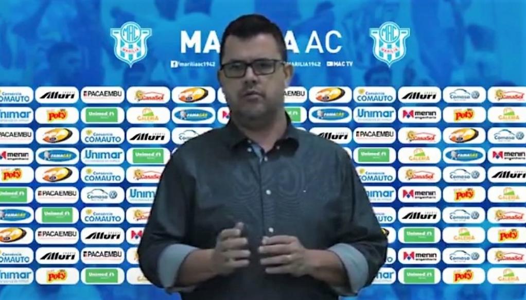 Giro Marília -Sem receita, MAC desativa departamento profissional para 2021